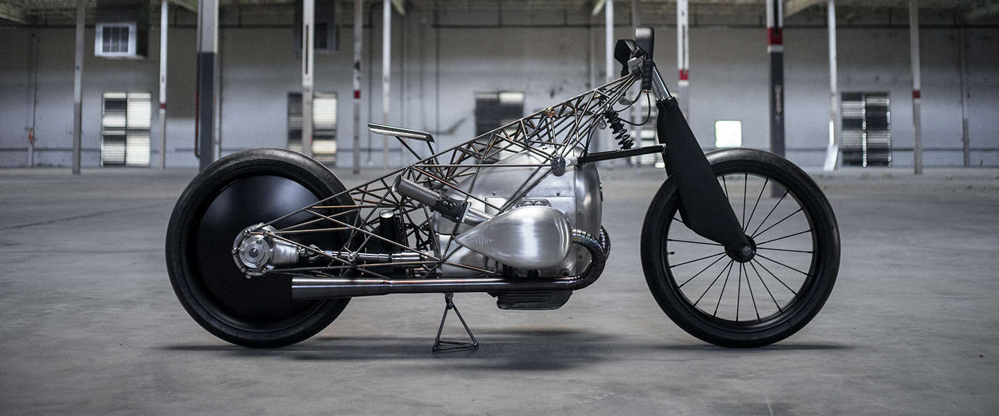 ​The Revival Birdcage, een unieke custom bike van Revival Cycles