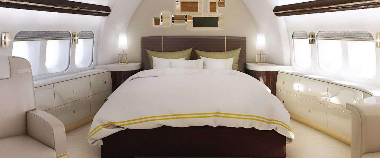 De Boeing 747 VIP Version is next level luxe