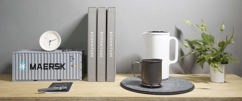Bookniture: dit boek kan transformeren tot een meubelstuk