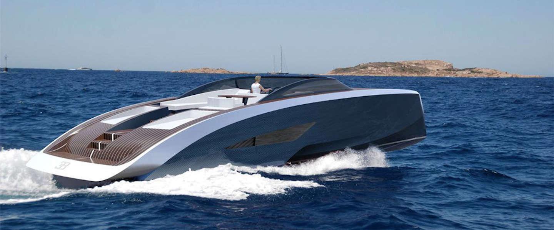Luxe sportjachten van Bugatti en Palmer Johnson