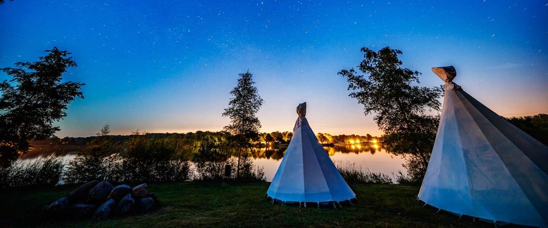 Deze zomer kun je kamperen op de camping van ID&T: 'Tijdloos' in Drenthe