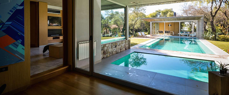 Relaxen in Casa del bosque in Argentinië