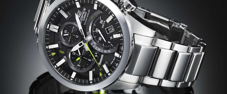 Update! Winactie: maak kans op een Casio EQB-500D horloge t.w.v. 299 euro.