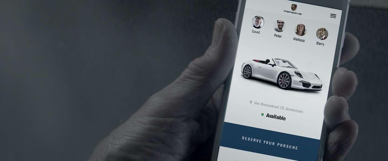 Porsche komt met originele primeur 'Share a Porsche'