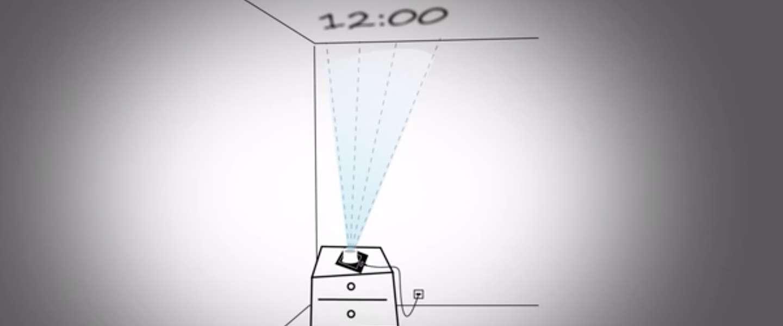 DreamMe: je iPhone-scherm projecteren op het plafond