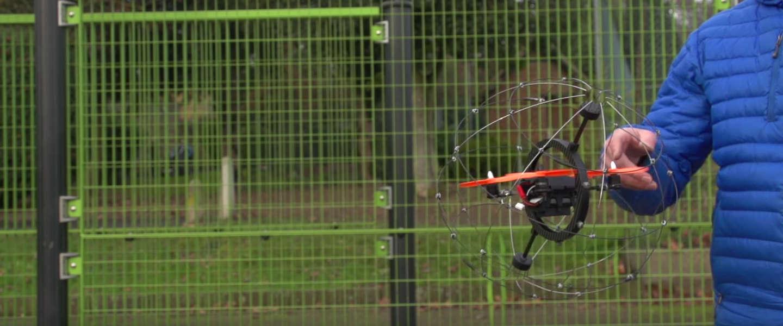 Droneball Go: de drone die je niet stuk kunt vliegen