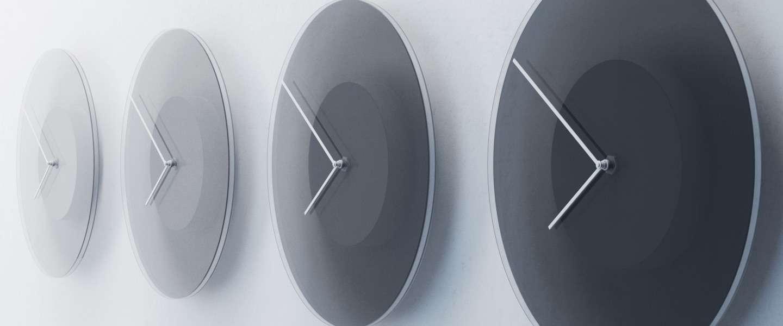 Dusk: deze gave klok verandert van tint naarmate de dag vordert