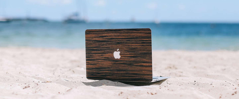 4 gave covers van hout voor je MacBook