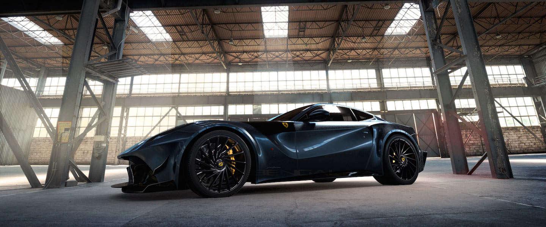 De Ferrari F12 wordt door Bengala omgebouwd tot dit woeste racemonster