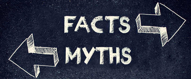 3 actuele mythes die we graag de wereld uit helpen