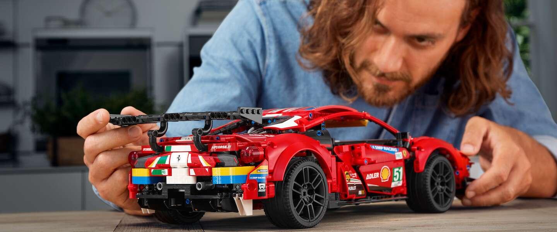 LEGO komt met 2 nieuwe sportwagens: de Ferrari 488 en McLaren Senna GTR