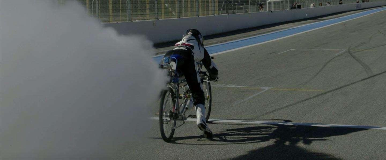 Wereldrecord: deze fiets gaat 333 km/u