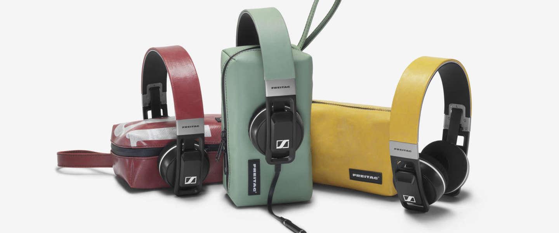 Freitag en Sennheiser maken samen gelimiteerde unieke koptelefoon