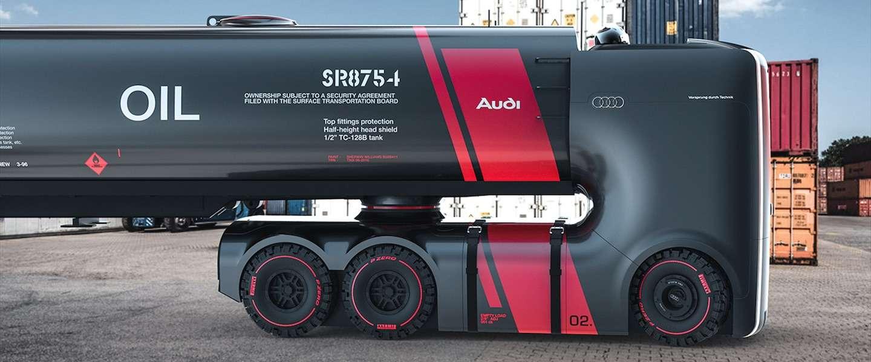 De toekomst van Audi vrachtwagens: elektrisch en autonoom