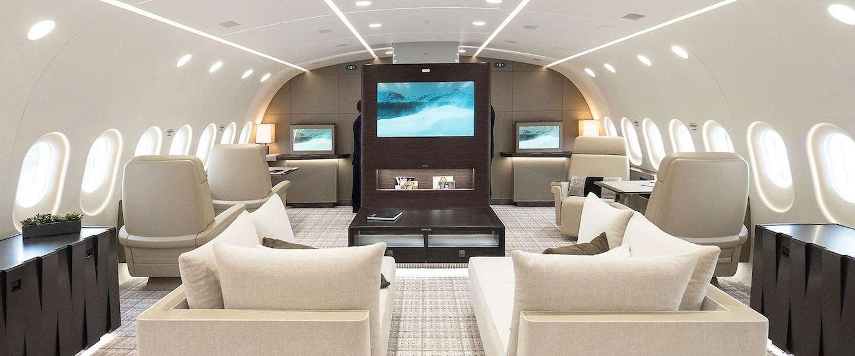 Dit is de meest luxe privé jet die je ooit hebt gezien