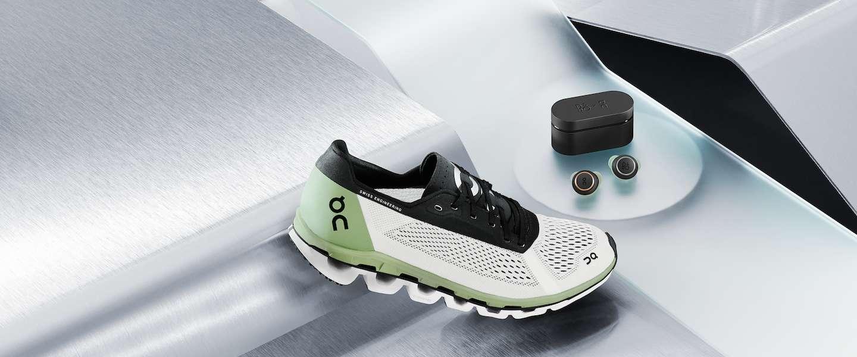 Sportmerk On en luxe audiomerk Bang & Olufsen willen samen de ultieme 'running kit' maken