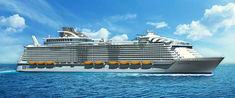Dit is het grootste cruiseschip aller tijden