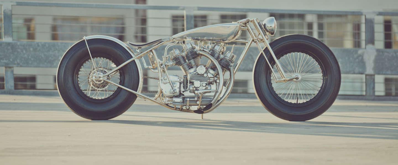 Te gekke motor: The Musket Bike van Hazan Motorworks