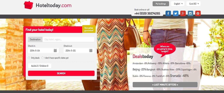 Hoteltoday.com biedt last minute de beste deals!