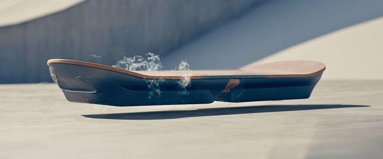 Een echt zwevend hoverboard op de markt?