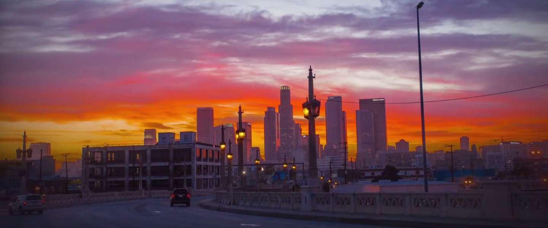 Geweldige hyperlapse video van Los Angeles