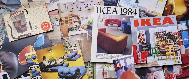 Fan van de IKEA catalogus? Blader door alle exemplaren van de laatste 70 jaar!
