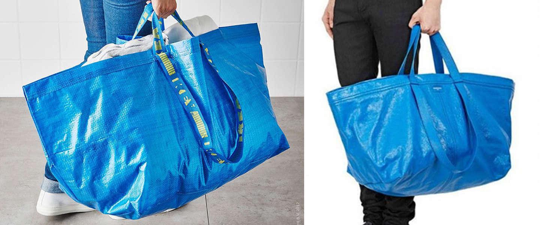 IKEA's hilarische reactie op designertas moet je gezien hebben