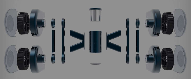 Deze Impeller drone kan vliegen zonder propellers