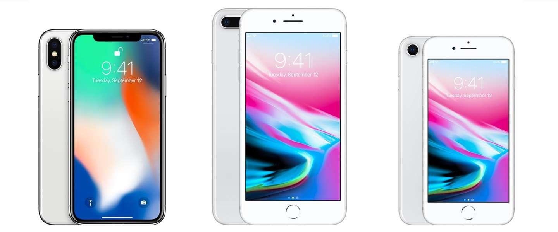 Het verschil tussen de iPhone 8 en iPhone X