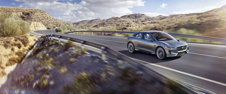I-PACE Concept: de elektrische sport-SUV van Jaguar