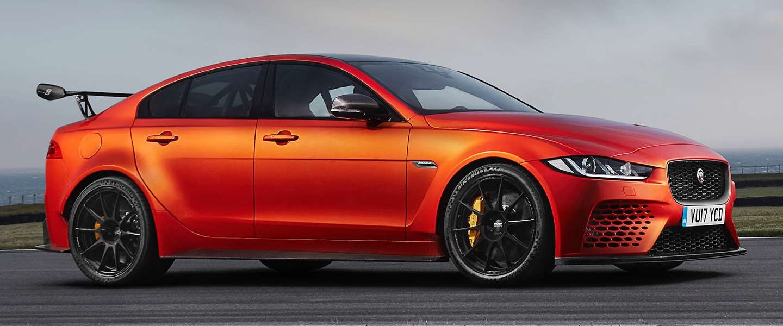 De Jaguar XE SV Project 8 is 600 pk aan prachtig beest