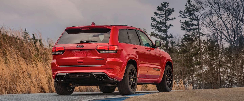 Jeep Grand Cherokee Trackhawk, dit is de snelste SUV ooit