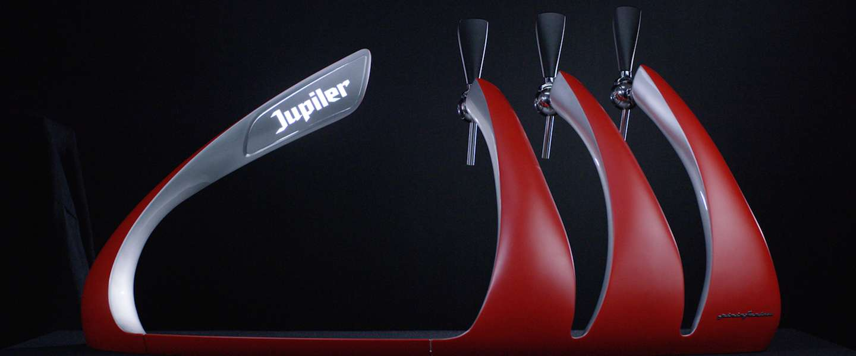 Een unieke taptoren van Jupiler