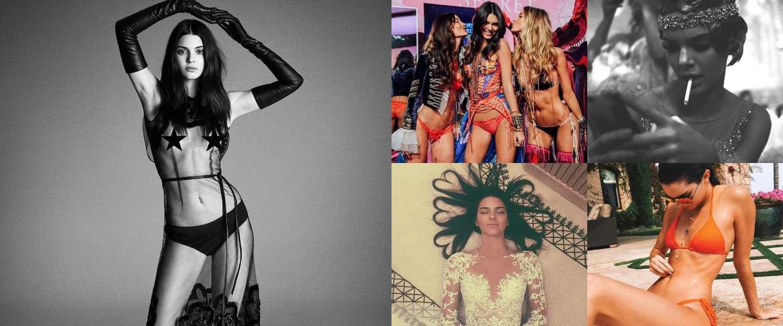 Model en actrice Kendall Jenner, een ware hit op Instagram