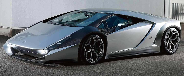 De Kode 0: retro-futuristische supercar met Lamborghini-bloed