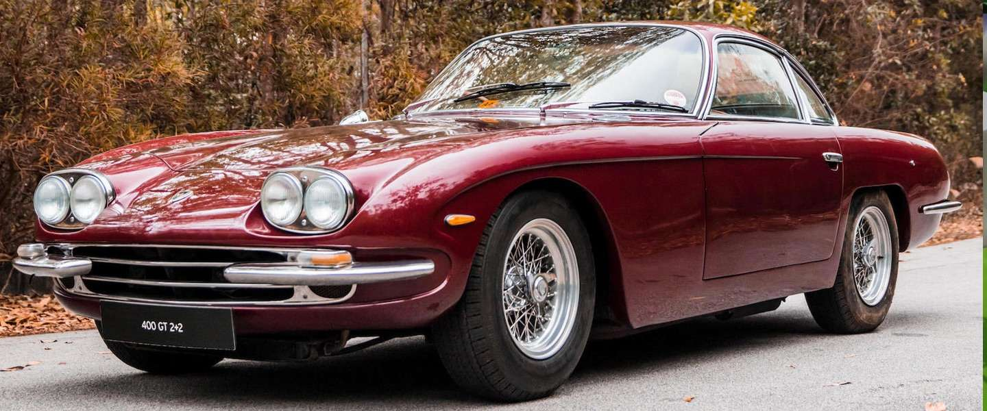 Te koop: Paul McCartney's rode 1967 Lamborghini
