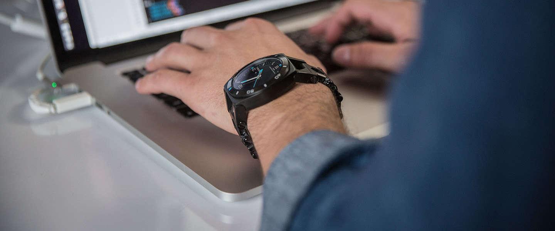 Horloge vol gereedschap, een  technische wearable!