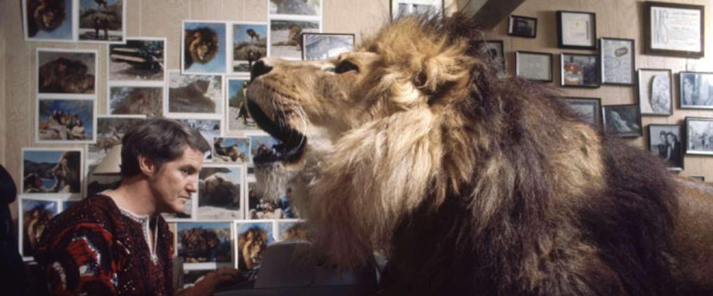 Huisdier Melanie Griffith in jongere jaren was een leeuw!