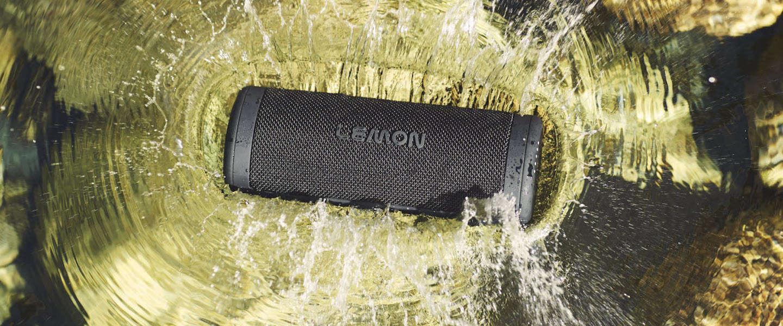 LEMON: waterproof speaker op zonne-energie
