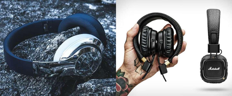 7 x coole en stijlvolle koptelefoons