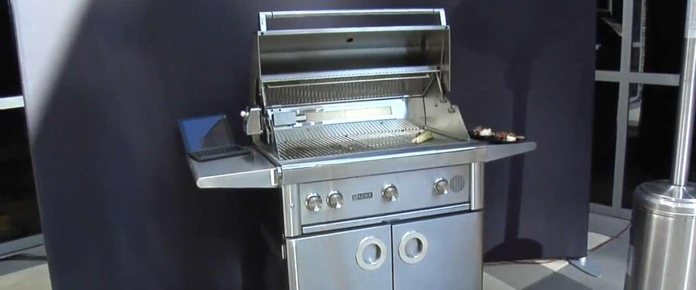 Deze grill bedien je via spraakbesturing