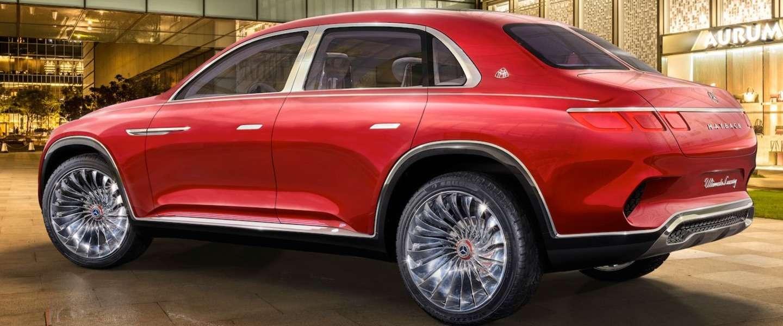 Mercedes onthult een ultra-luxe elektrische Maybach SUV