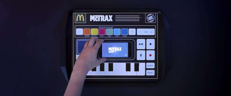 McTrax: coole interactieve placemat van McDonald's