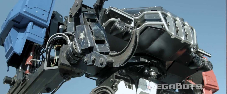 Giant Robot Duel VS versus Japan: dit is Eagle Prime uit Amerika
