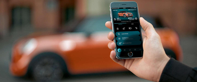 Een nieuw tijdperk van connectiviteit voor MINI-rijders