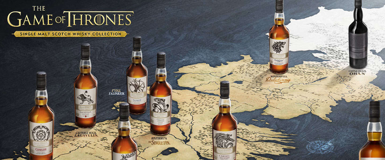 Nieuwe Game Of Thrones Limited edition whisky, nu verkrijgbaar