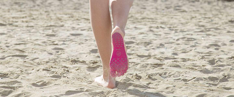 Met Nakefit kun je op blote voeten lopen, waar en wanneer je maar wilt