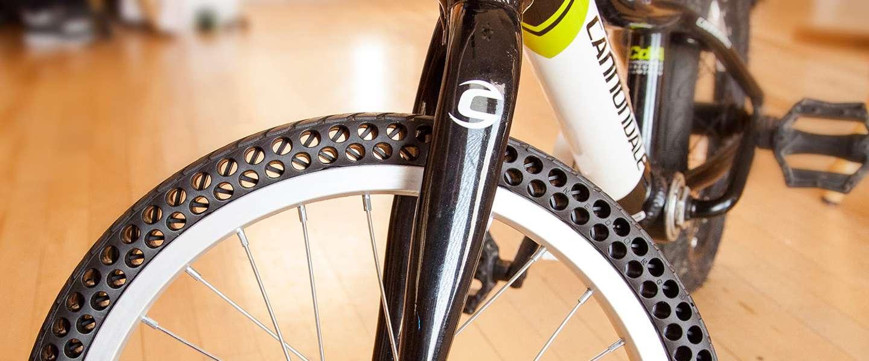 Bedrijf in Utah maakt fietsband die niet lek kan