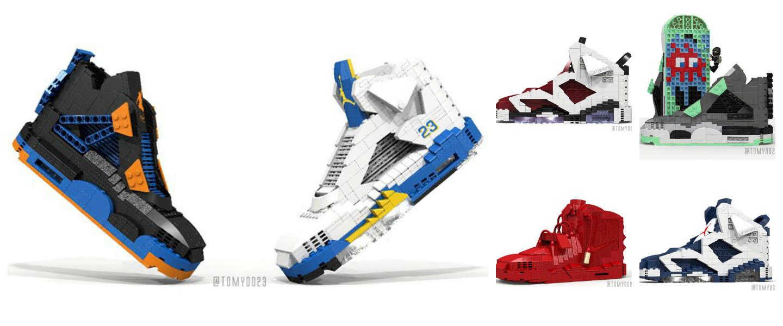 Sneakers van LEGO
