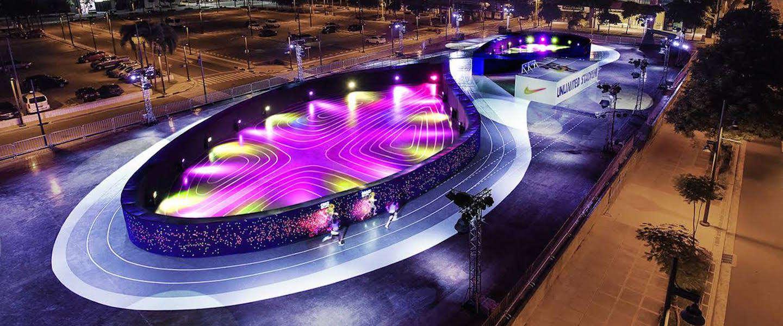 NIKE introduceert 's werelds eerste LED Running Track